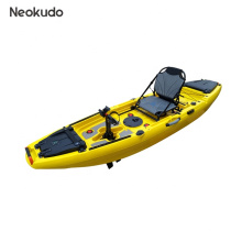 2020 hot selling single person rotomolded pedal kayak with aluminum seat