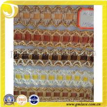 Curtain polyester yarn fringe trimming lace fringe