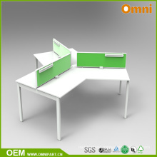120 Degree High Legs Office Table