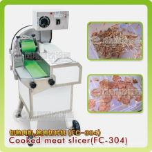 Gekochtes Fleisch Slicing Machine, gewürzte Fleisch Schneidemaschine
