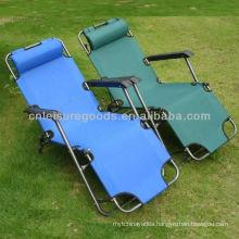 Folding double-duty zero gravity chair
