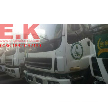 Isuzu 9 Cubic Meters Used Concrete Mixer Truck with Pump (9cbm mixer)