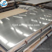 ss316L plaque en acier inoxydable à bas prix