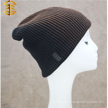 Factory Direct Supply Bonnet en maille en laine pour hommes