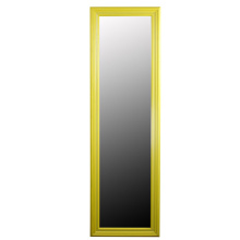 Espejo plástico de gran perfil marco 40x50cm