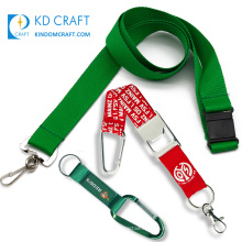 Free sample custom retractable nylon polyester silk screen printing bottle opener short neck strap blank dye sublimation lanyard