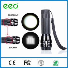 Zoom Flashlight, zoom flashlight torch, zoom dimmer led flashlight
