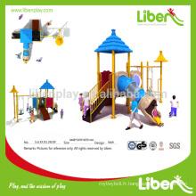 2014 Nouveau design unique d'équipement de terrain de jeux extérieur LE.X3.311.292