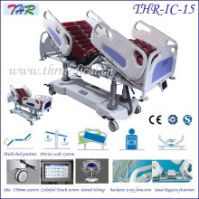 Профессиональная стационарная кроватка для больниц ICU Electric (THR-IC-15)