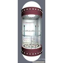 Sicherheit und gute Qualität Panorama Aufzug