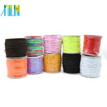 Cordón elástico elástico Varios colores para artesanía Pulsera DIY con diferentes tamaños y colores, ZYL0002