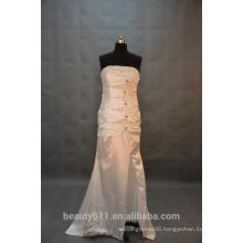 IN STOCK Strapless wedding dress sleeveless floor-length bridal dresses SW41
