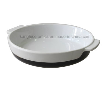 Porcelain Bakeware Set with Handle