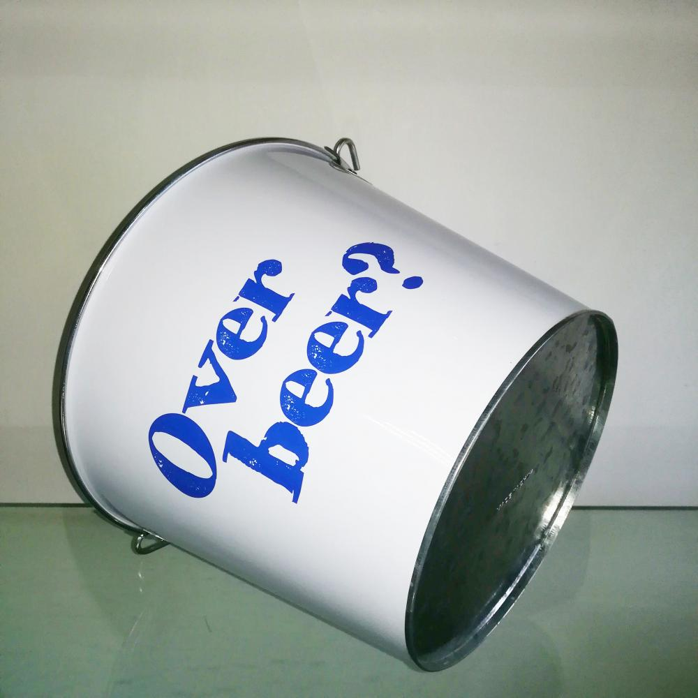 beer metal bucket