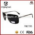 Black Color Double Bridge Óculos de sol de marca italiana