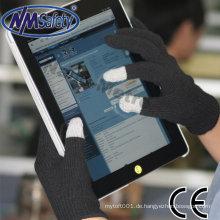 NMSAFETY ipad iphone leitfähiges Gewebe für Handschuhe