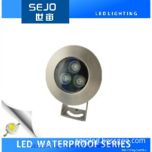 3W IP68 RGB Color Change LED Underground Light LED Pool Light
