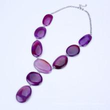 Новые пурпурные ювелирные изделия Tassel цвета цвета