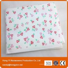 Chiffon de nettoyage non tissé de tissu non-tissé d'aiguille de polyester de 80% viscose + 20%, tissu de style allemand