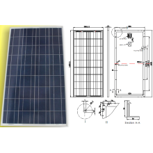 18V 135W 140W 145W 150W System Solar System Light Panel Module with TUV Approved
