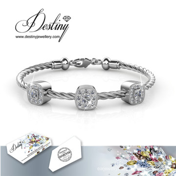 Destiny Jewellery Crystals From Swarovski Square Bracelet