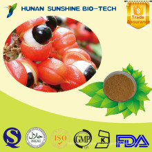 100% natürliches Guarana-Extrakt 10% 20% Koffein, Guarana-Samen-Extrakt