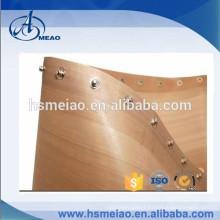 Customized edge type PTFE Teflon drying conveyor belt