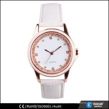 Esencia del reloj de señora de la manera, reloj de bolsillo del cuarzo del movt de Japón