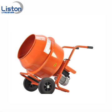 Small construction machinery electric mobile concrete mixer