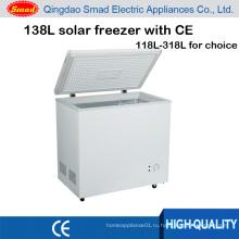 138 солнечные Морозильная камера, DC 12 В морозильник, Солнечной морозильник