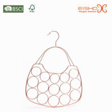 Eisho Rings PVC revestido Tie & Belt Metal Hanger
