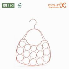 Eisho Rings PVC Coated Tie & Belt Metal Hanger