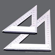 Regla del cuadrado del triángulo Acero de la aleación de aluminio