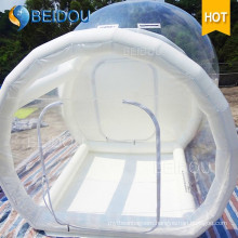 OEM Factory Wholesale Dome Camping Tents Inflatable Lawn Igloo Transparent Clear Bubble Tent
