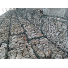 Rede de fio sextavada para pedra