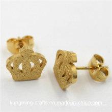2016 dernières créations en gros de boucles d'oreille en or pour femme