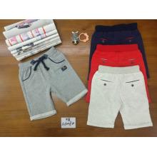 Großhandelslässige Baby-Sporthose graue kurze Hosen für 2-7 Jahre alt