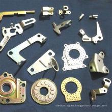 Parte sellada de metal por parte mecanizada