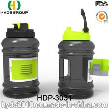2.2L botella de agua de deporte plástico libre de BPA (HDP-3031) modificado para requisitos particulares