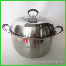 Wholesale Double Handles Stainless Steel Pot