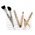 3 Compartment Acrylic Makeup Medicine Cabinet Organizer