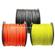 """Cuerdas de malacate de línea Optima de 1/2 """"X100 ', línea de cabrestante sintético, material de UHMWPE"""