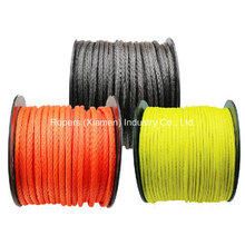 """1/2 """"X100 ′ Cordas de guincho Optima Line, linha de guincho sintético, Material UHMWPE"""