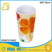 nouveauté directe prix rond mélamine personnalisé imprimé tasses à thé