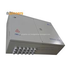 Caja de distribución de fibra óptica para exteriores de 48 núcleos de metal