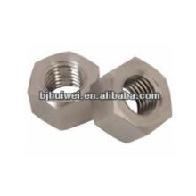 Gr5 Titanium hex nuts DIN934
