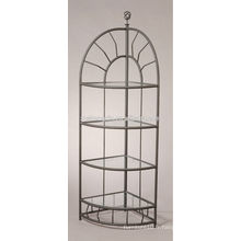 Panneau en métal ovale en verre à quatre couches pour la vente