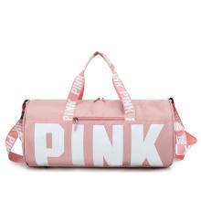 Hot Sale Large Capacity Women Weekend Shoulder Travel Bag Waterproof Sport Gym Trip Duffel Bag