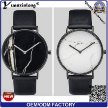 Yxl-287 New Design Marble Face Watch Hottest Fashion Vogue Charming Lady Wrist Watch Promotional Ladies Men′s Watches Factory