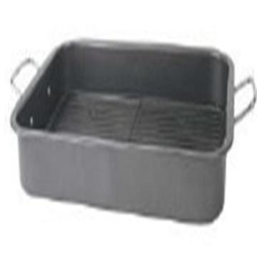Rectangular Deep Roasting Pan with Handle